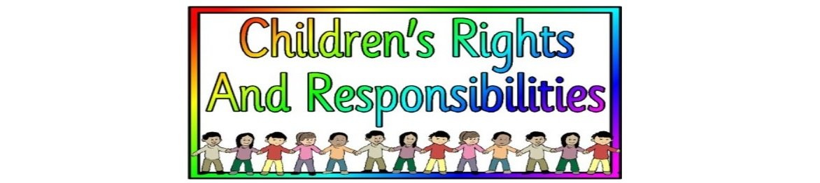 Children's Rights and Responsibilities Programme by West team