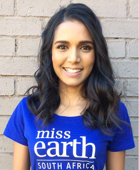 Mireesha Narsai : Miss Earth South Africa: Fire 2016